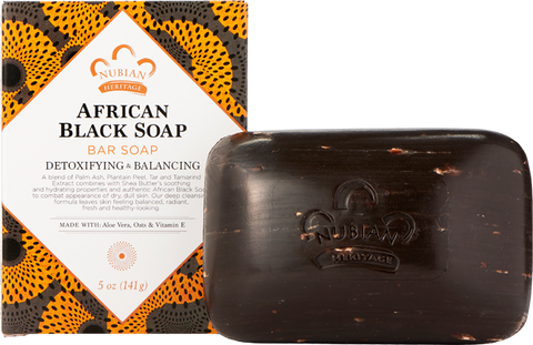 Nubian Heritage Bar Soap - African Black
