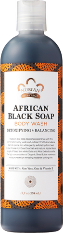 Nubian Heritage Body Wash - African Black Soap