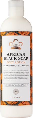 Nubian Heritage Body Lotion - African Black Soap