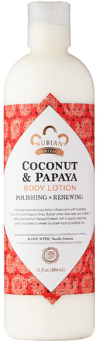 Nubian Heritage Body Lotion - Coconut & Papaya