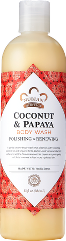 Nubian Heritage Body Wash - Coconut & Papaya