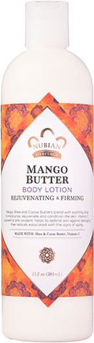Nubian Heritage Body Lotion - Mango Butter