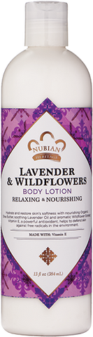 Nubian Heritage Body Lotion - Lavender & Wildflowers