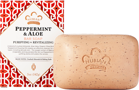Nubian Heritage Bar Soap - Peppermint