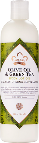 Nubian Heritage Body Lotion - Olive Oil & Green Tea