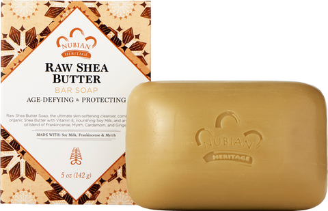 Nubian Heritage Bar Soap - Raw Shea Butter