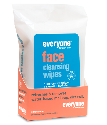 Everyone Cleansing 3-in-1 Face Wipes