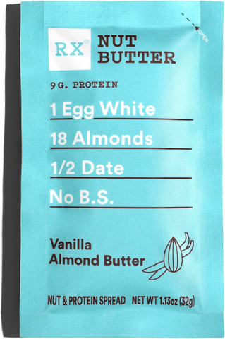 RX Nut Butter - Vanilla Almond Butter