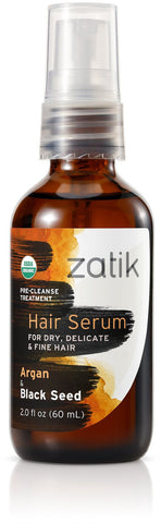 Zatik Hair Serum (Argan & Black Seed)