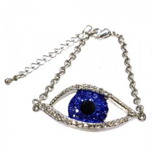 Crystal Evil Eye Bracelet