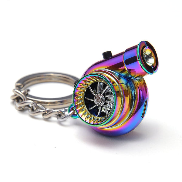 Electronic Spinning Turbo Keychain Rechargeable