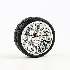 Spinning Wheel Rim Tire Car/Truck Air Freshener Decoration Solid Perfume .