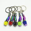 Neochrome Air Filter Intake Keychain
