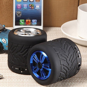 Wheel Bluetooth Wireless Speaker