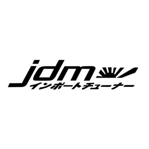 Black JDM Vinyl Sticker Decal