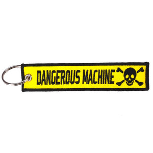 Dangerous Machine Key Tag