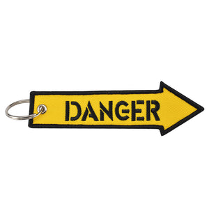 Danger Key Tag