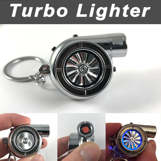 Turbo Lighter Keychain (Rechargeable)