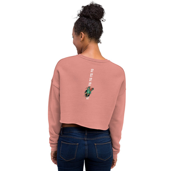 Traditions Crop Sweatshirt - Mauve