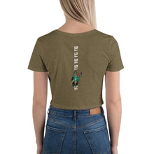 Traditions Crop Tee - Olive