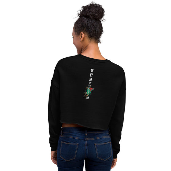 Traditions Crop Sweatshirt - Black