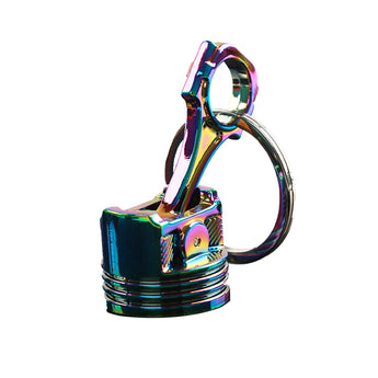 Neochrome Piston Keychain
