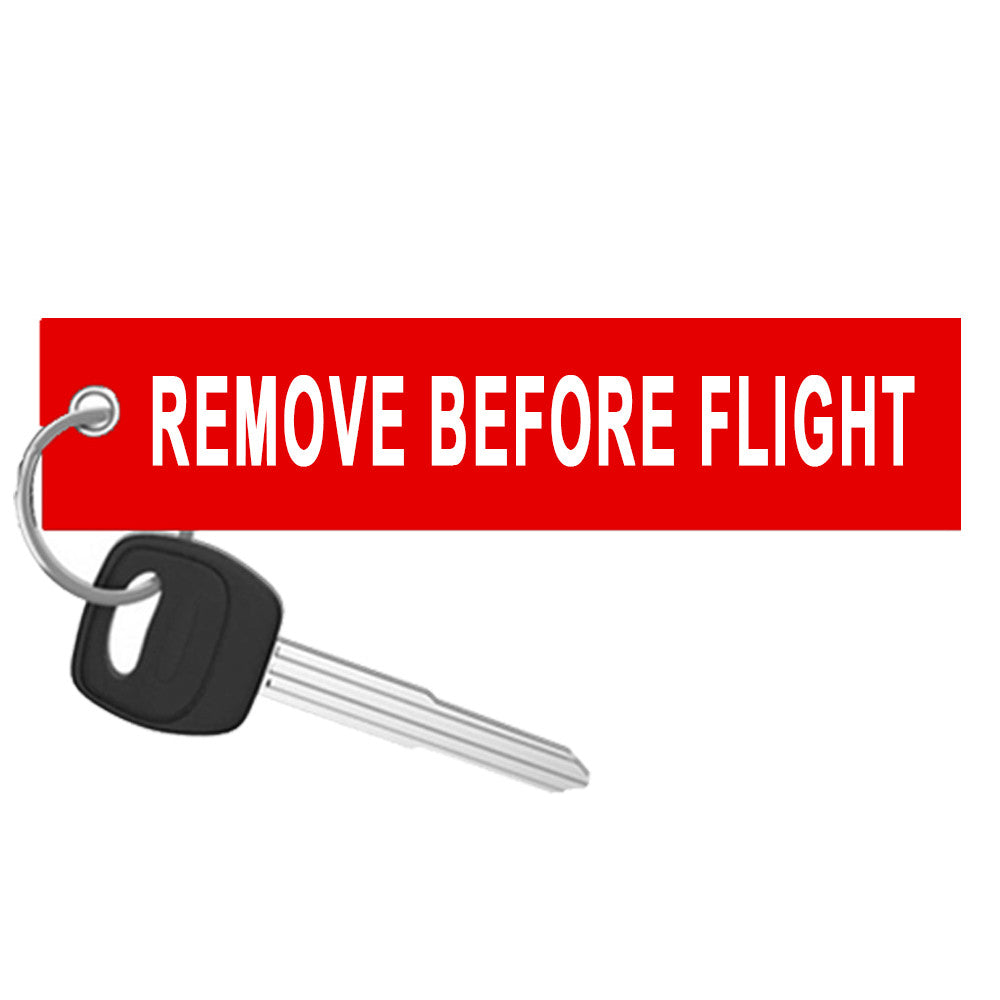 Removebeforeflight X on Remove Before Flight Key Tag