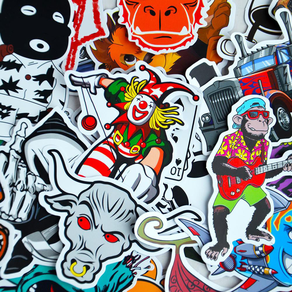 100 Sticker Bomb Stickers