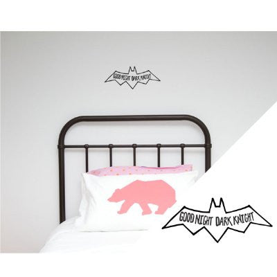 General Eclectic Wall stickers - thin brushed X's yellow