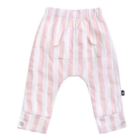 Anarkid Block Stripe Woven Pants - Blush Pink