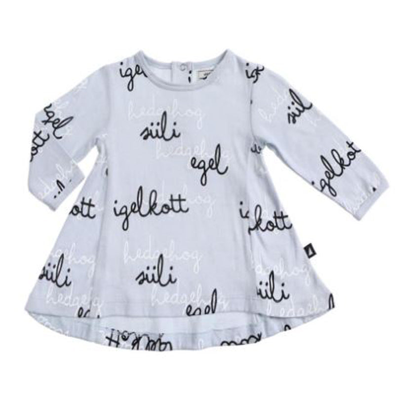 Anarkid Worldly Hedgehog Swing Dress Dresses Anarkid - Little Styles