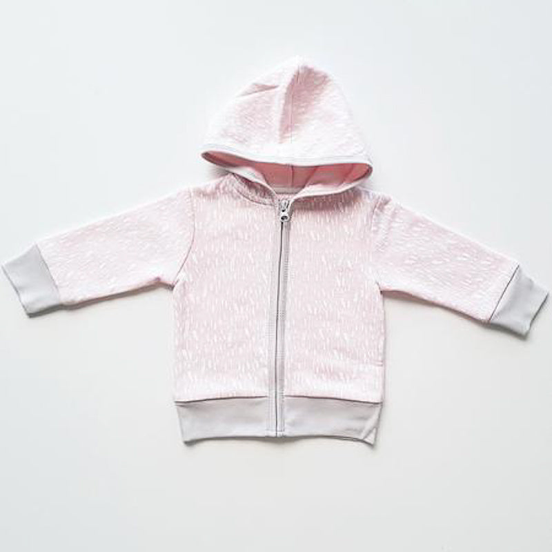 Anarkid Pink Paint Fleece Hoodie