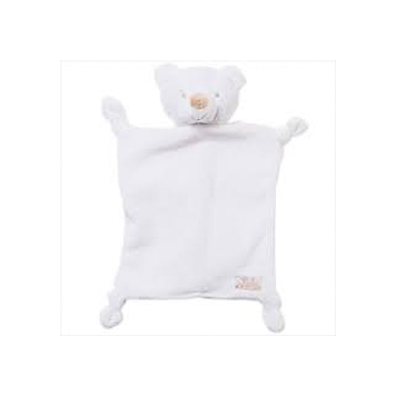 Bebe Bear Comforter in White