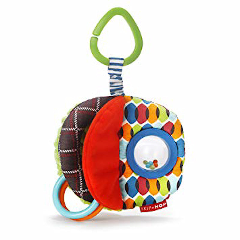 Skip Hop Rattle & Play Jumble Ball Stroller Toy
