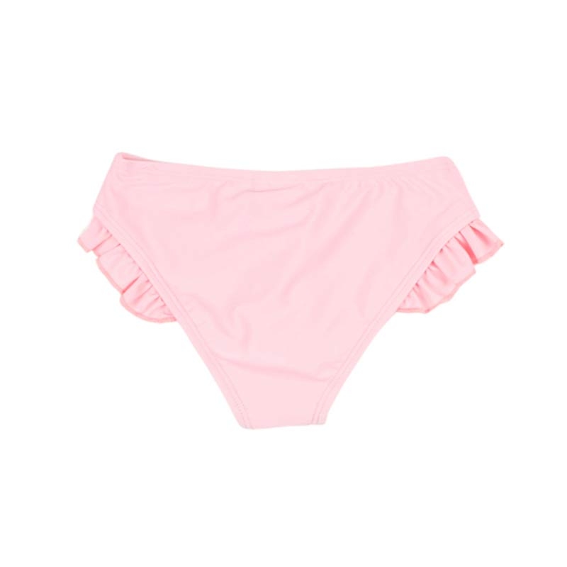 Bebe Dana Frill Nappy Pant in Pink Swimwear Bebe - Little Styles