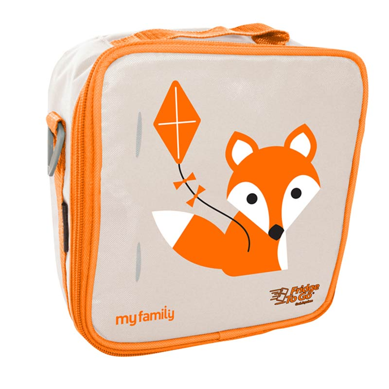 My Family Foxy Lunch Bag Fridge to Go Bags My Family - Little Styles