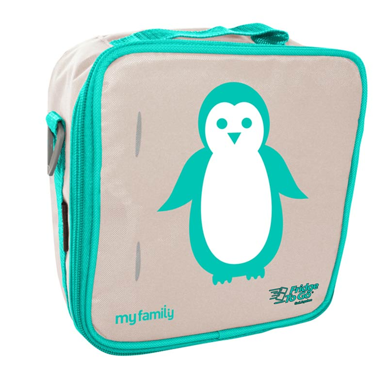 My Family Penguin Fridge to Go Lunch Bag Bags My Family - Little Styles