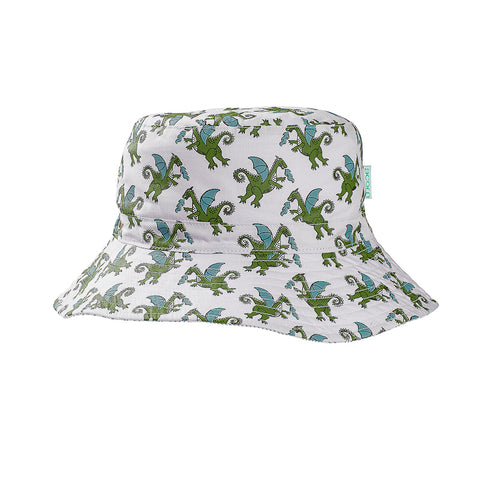Acorn Dragons Bucket Hat - Grey and Multi