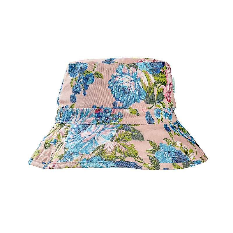 Acorn Garden of Eden Bucket Hat - Floral Hats Acorn - Little Styles
