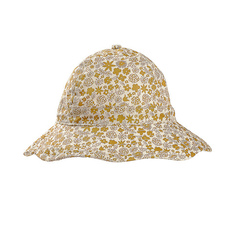 Acorn Golden Hour Infant Hat - Gold and Cream