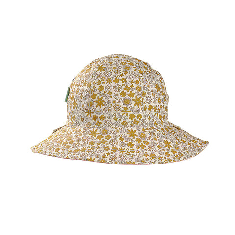Acorn Golden Hour Reversible Hat - Gold and Cream