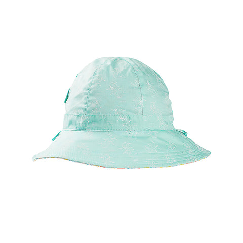 Acorn Mermaid Reversible Hat - Turquoise