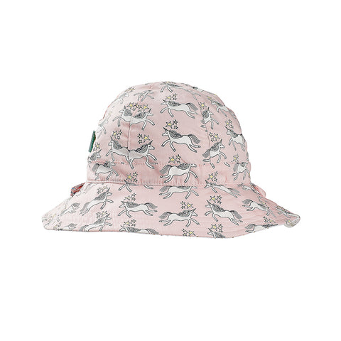 Acorn Unicorns Reversible Hat - Pink