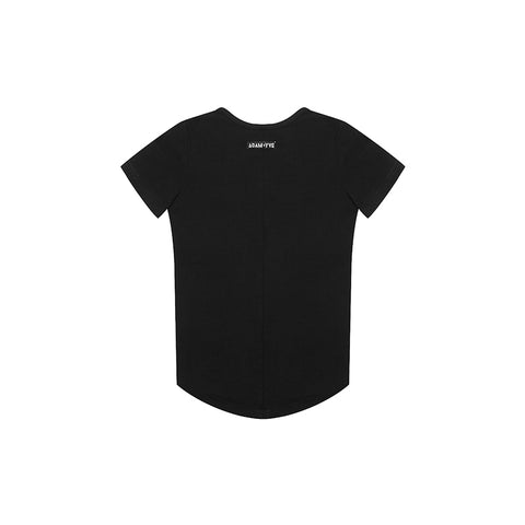 Adam + Yve Black Panel Tee