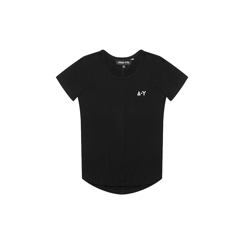 Adam + Yve Black Panel Tee Tops Adam + Yve - Little Styles