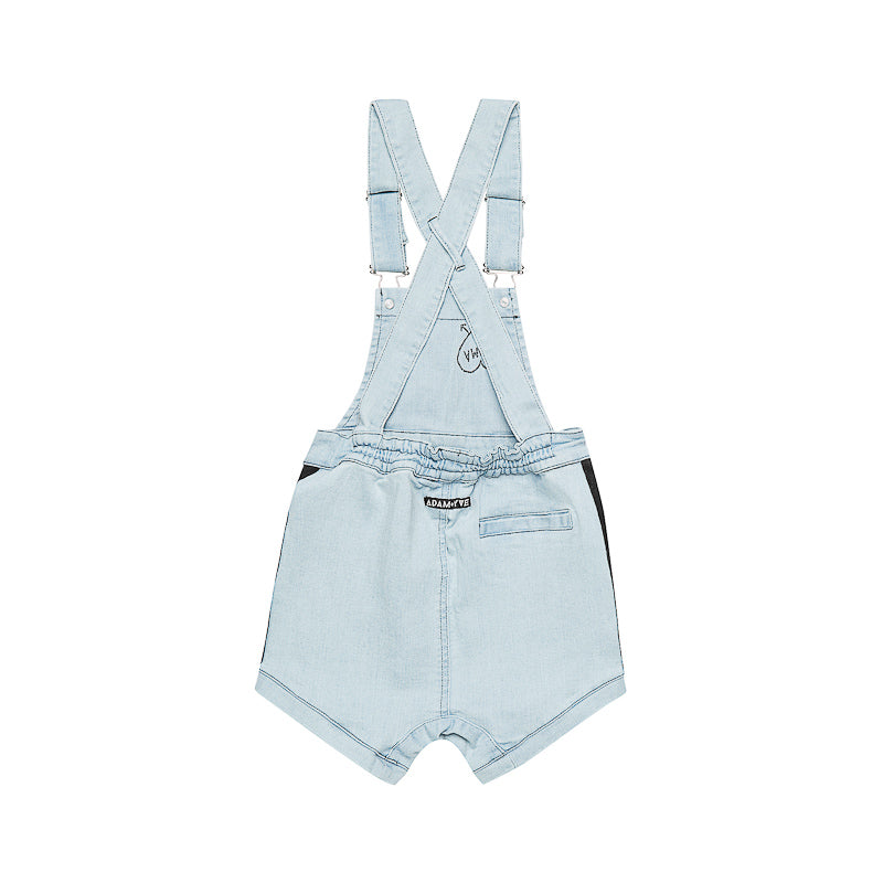 Adam + Yve Love Your Mama Overalls - Blue Denim Shorts Adam + Yve - Little Styles