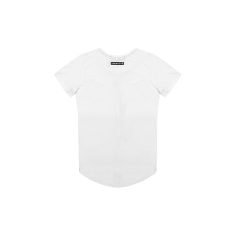 Adam + Yve White Panel Tee
