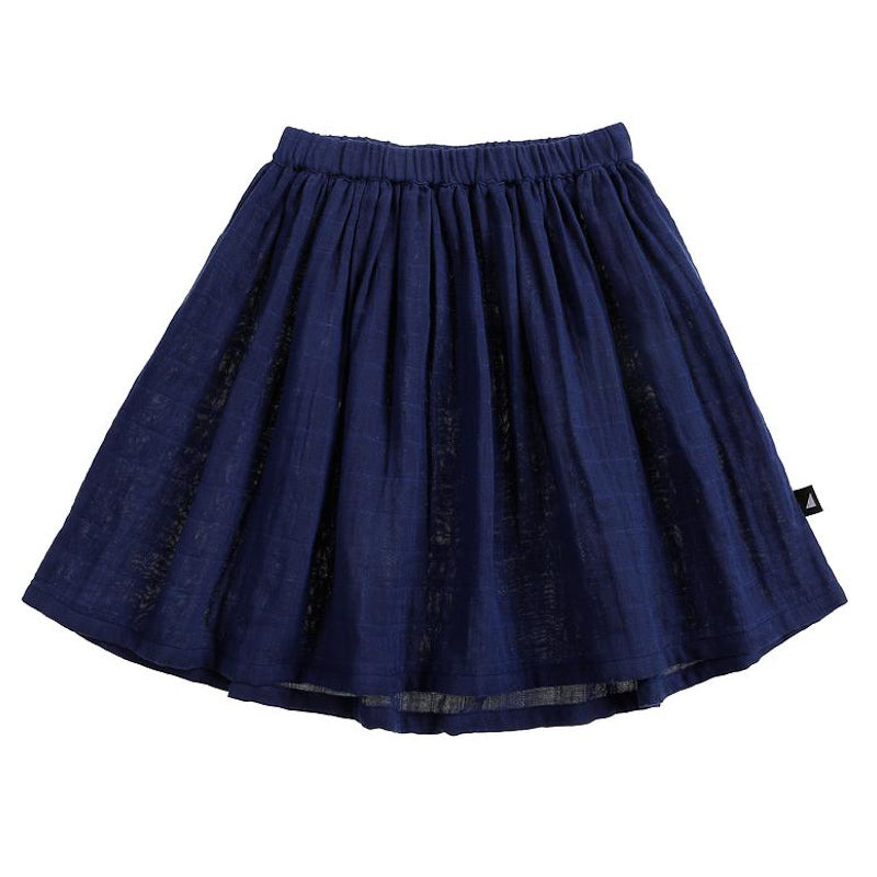 Anarkid Muslin Skirt Navy Skirts Anarkid - Little Styles