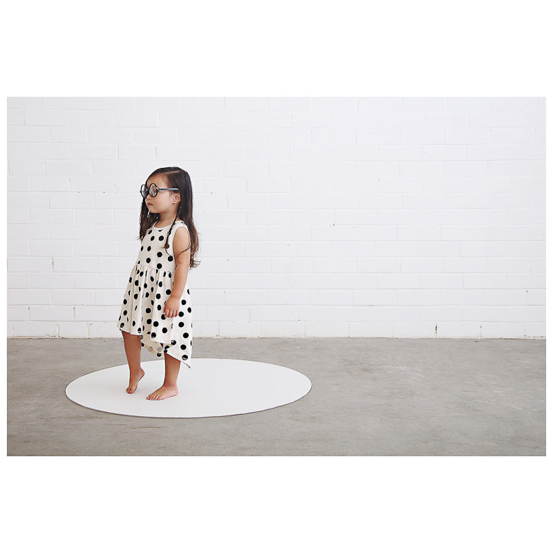Anarkid Spot AOP Sleeveless Dress - Lily White Dress Anarkid - Little Styles