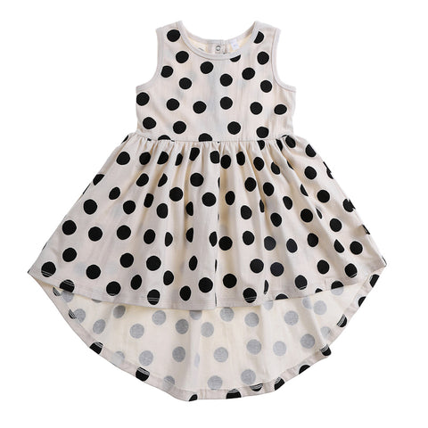 Anarkid Spot AOP Sleeveless Dress - Lily White